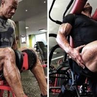 The Rock Leg Exercises